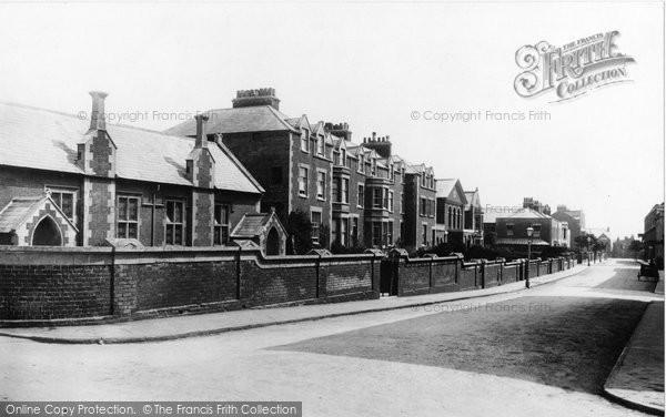 Burnham On Sea, College Street 1896