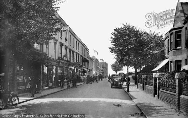 Burnham On Sea, College Street 1926