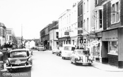 Burnham-on-Sea, College Street c.1960