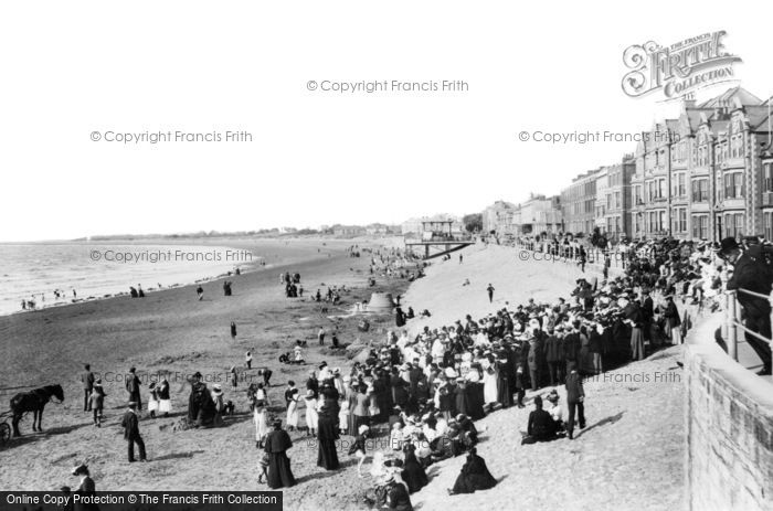Burnham On Sea, Esplanade 1903
