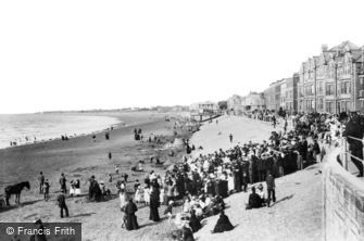 Burnham-on-Sea, Esplanade 1903