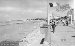 Burnham-on-Sea, Esplanade c.1960