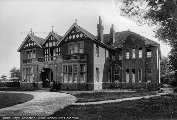 Burnham On Sea, Gardenhurst, Ladies School, Rectory Road 1907