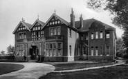 Burnham-on-Sea, Gardenhurst, Ladies School, Rectory Road 1907