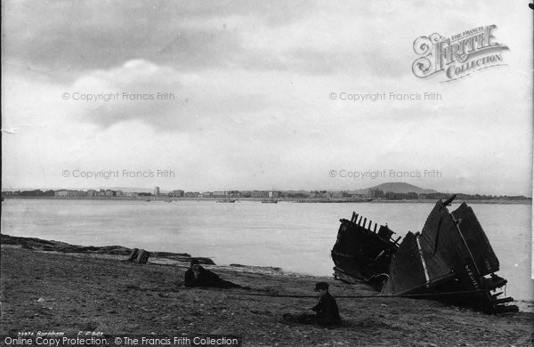 Burnham On Sea, General View 1890