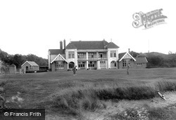 Golf Club House 1913, Burnham-on-Sea