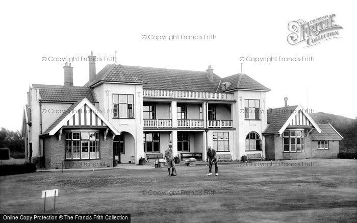 Burnham On Sea, Golf Club House 1913