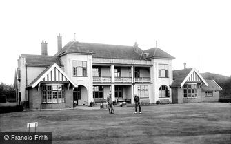 Burnham-on-Sea, Golf Club House 1913