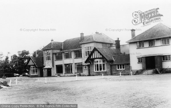 Burnham On Sea, Golf Club House c.1960