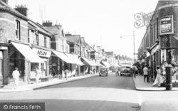Burnham-on-Sea, High Street c.1955
