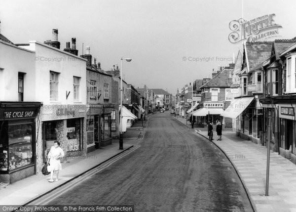 Burnham On Sea, High Street c.1960