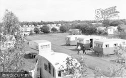 Burnham-on-Sea, Lakeside Holiday Park c.1960