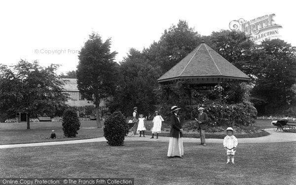 Burnham On Sea, Manor Gardens 1913