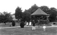 Burnham-on-Sea, Manor Gardens 1913