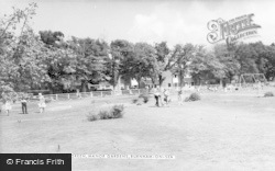 Burnham-on-Sea, Manor Gardens, The Putting Green c.1960