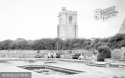 Burnham-on-Sea, Marine Cove Gardens c.1955