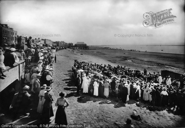 Burnham On Sea, On The Sands 1918