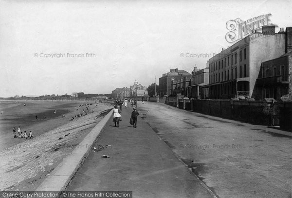 Burnham On Sea, Parade 1892