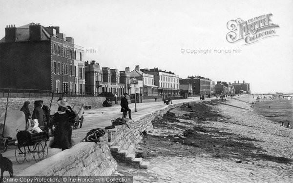 Burnham On Sea, Parade 1896