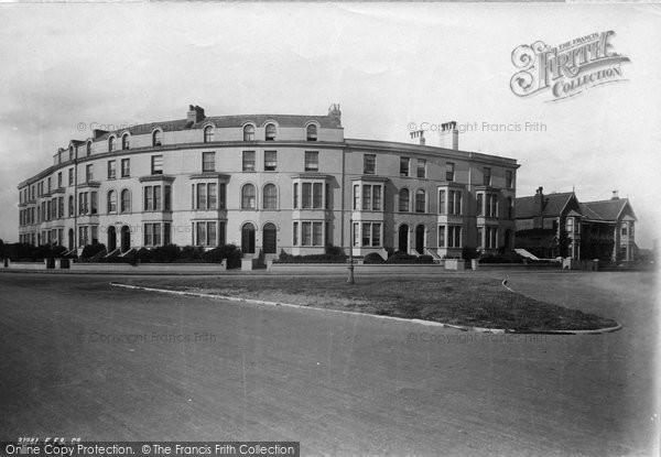 Burnham On Sea, Pier Terrace 1892