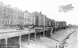 Burnham-on-Sea, Promenade From The West c.1950