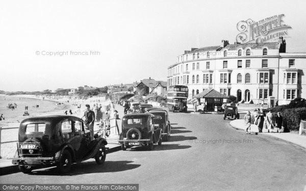 Burnham On Sea, Promenade, North End 1939