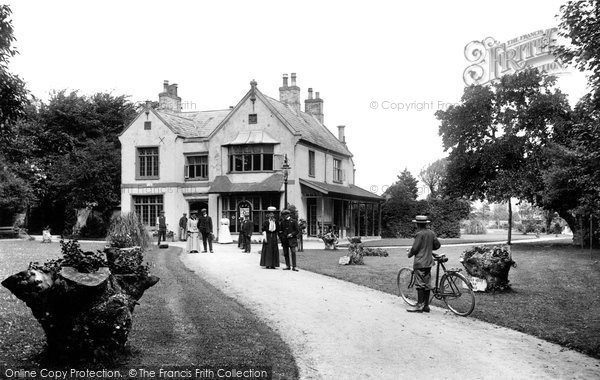 Burnham On Sea, Public Gardens 1907