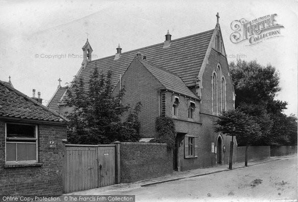 Burnham On Sea, Roman Catholic Chapel 1913