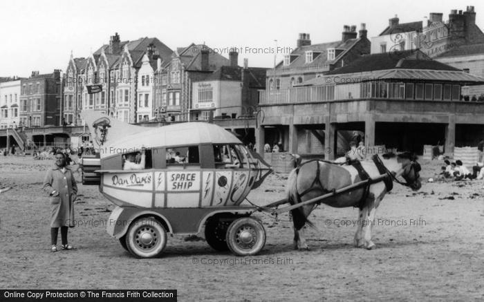 Burnham On Sea, Space Ship Pony Cart c.1960