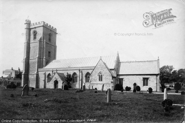 Burnham On Sea, St Andrew's Church 1896