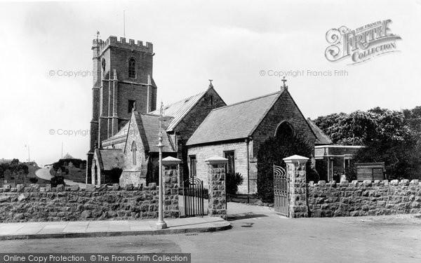 Burnham On Sea, St Andrew's Church 1926