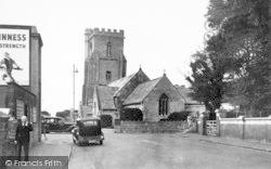 Burnham-on-Sea, St Andrew's Church c.1950