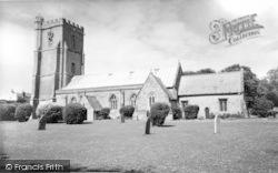 Burnham-on-Sea, St Andrew's Church c.1960