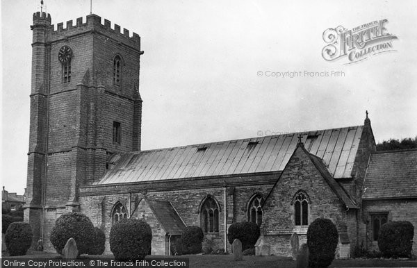 Burnham On Sea, St Andrew's (The Leaning) Church c.1950