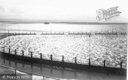 Burnham-on-Sea, Sun Flecked Ripples c.1939