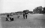 Burnham-on-Sea, The Beach 1892