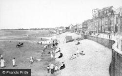 Burnham-on-Sea, The Beach 1907