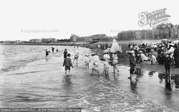 Burnham On Sea, The Beach 1907