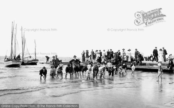 Burnham On Sea, The Beach 1913