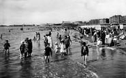 Burnham-on-Sea, The Beach 1918