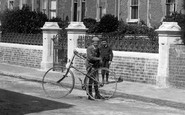 Burnham-on-Sea, The Bicycle 1892