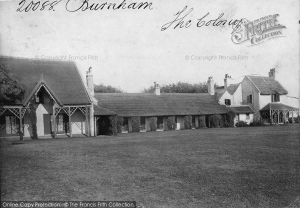 Burnham On Sea, The Colony 1887