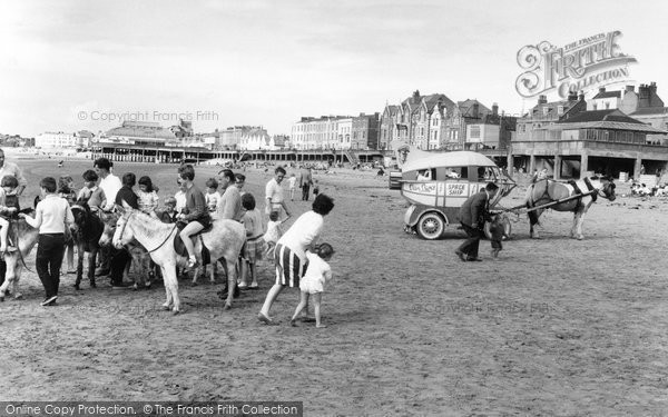 Photo of Burnham On Sea, The Donkeys 1963