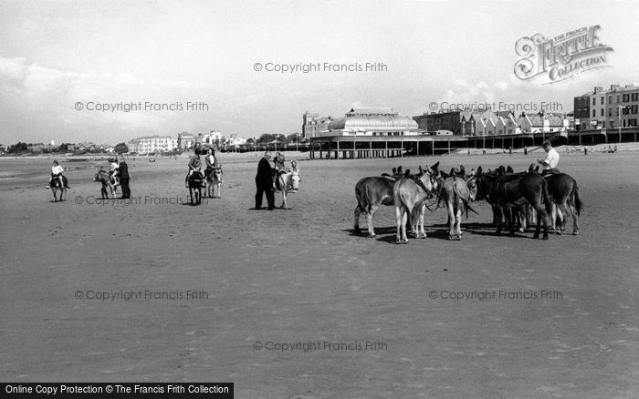 Burnham On Sea, The Donkeys c.1960