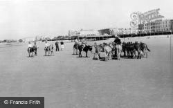 Burnham-on-Sea, The Donkeys c.1960