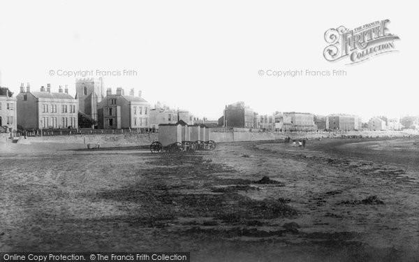 Burnham On Sea, The Esplanade 1887