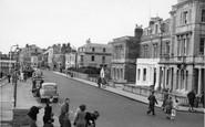 Burnham-on-Sea, The Esplanade Looking North c.1955