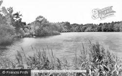 Burnham-on-Sea, The Lake, Lakeside Holiday Park c.1960