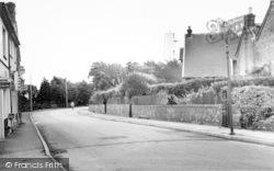 Burnham-on-Sea, The Lighthouse From Berrow Road c.1960