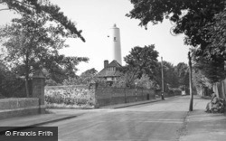 Burnham-on-Sea, the Old Lighthouse c1955